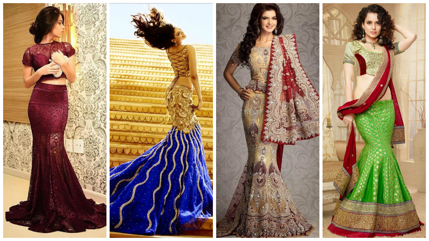 Lehenga for an hour glass shape or mermaid lehenga