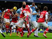 مباراة اليوم تجمع بين فريق آرسنال ومانشستر سيتي في الدوري الانجليزي
