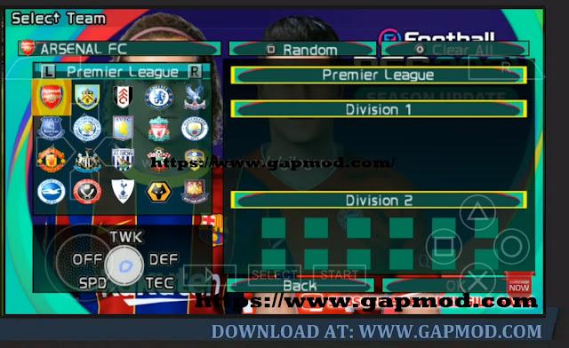 Download PES 2021 Lite 400MB PPSSPP Master League No Bug