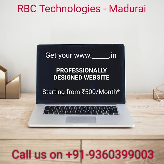 Best website designers in Madurai