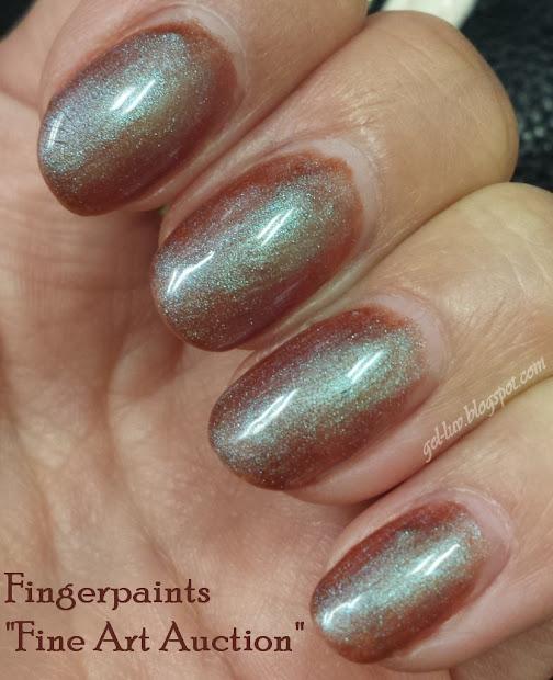"""Gel-luv Gel Polish Fingerpaints """"fine Art Auction"""""""