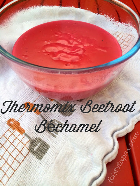 Thermomix Beetroot Béchamel