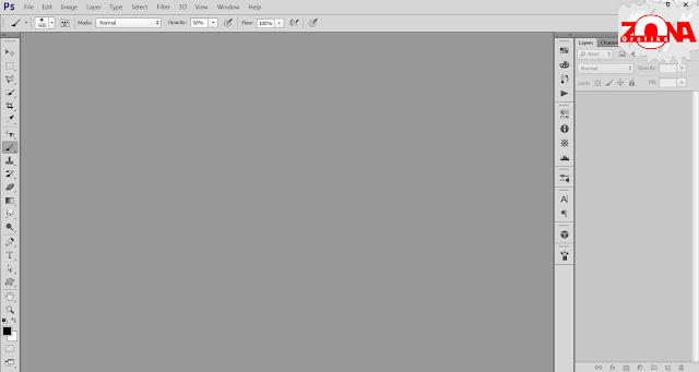 Cara Mengubah Warna Tampilan Adobe Photoshop CS6