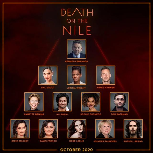 Deretan Aktor Papan Atas Dalam Film Death on The Nile