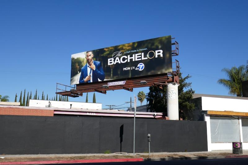 Bachelor season 25 billboard