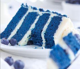 Recipe BLUE VELVET CAKE #cake