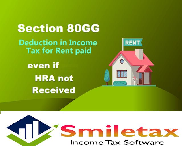 Income Tax 80GG