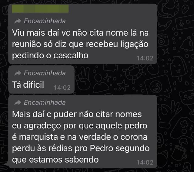 """Manoel Ribas: Enquanto isso nas redes sociais – """"Pedro seria marquista e Corona perdeu as rédeas"""""""