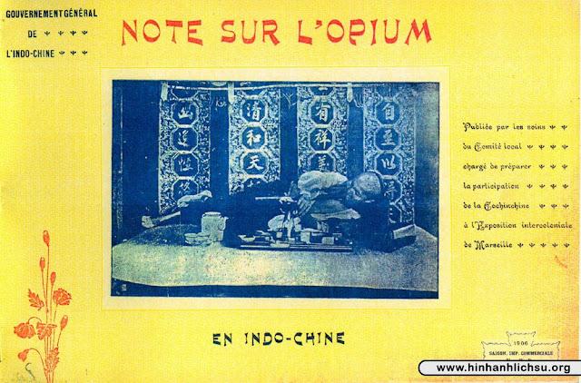 Hút thuốc phiện ở Việt Nam xưa
