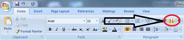 Fungsi Sort Pada Microsoft Word dan Cara Menggunakannya, kegunaan sort pada microsoft word, apa fungsi sort pada microsoft word, apa kegunaan sort pada microsoft word, cara kerja sort pada microsoft word