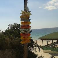 Gartendeko wie am Strand