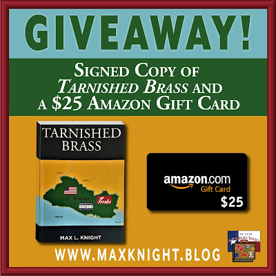 Tarnished Brass giveaway graphic