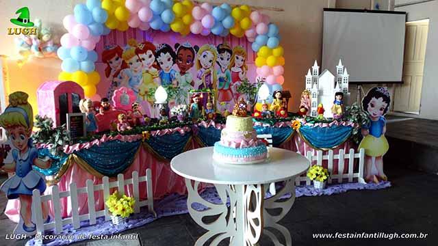 Decoração de aniversário infantil Princesas Baby Disney