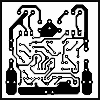 PCB Layout Design Mini Strong Amplifier