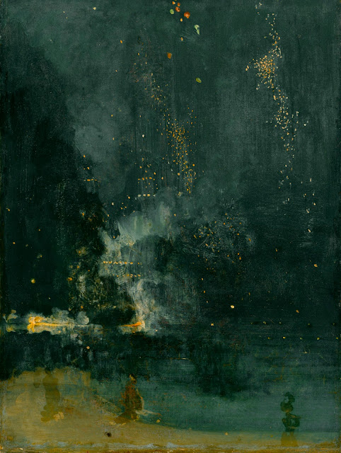 James McNeill Whistler - Nocturno, negro y oro - c. 1875