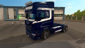 Spirit Of North paint job for Scania RJL