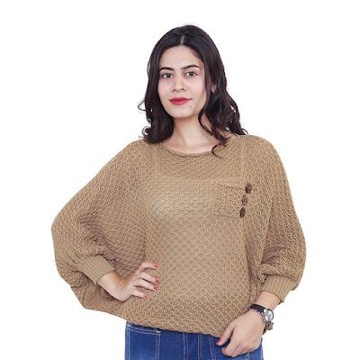 Sweater Rajut Wanita Catenzo ZM 080