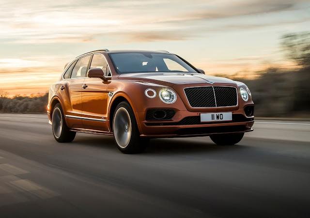 Bentley ofrece el SUV más veloz y lujoso del mundo