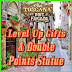 FarmVille Alba Toscana Farm Level Up Gifts and Double Points Statue