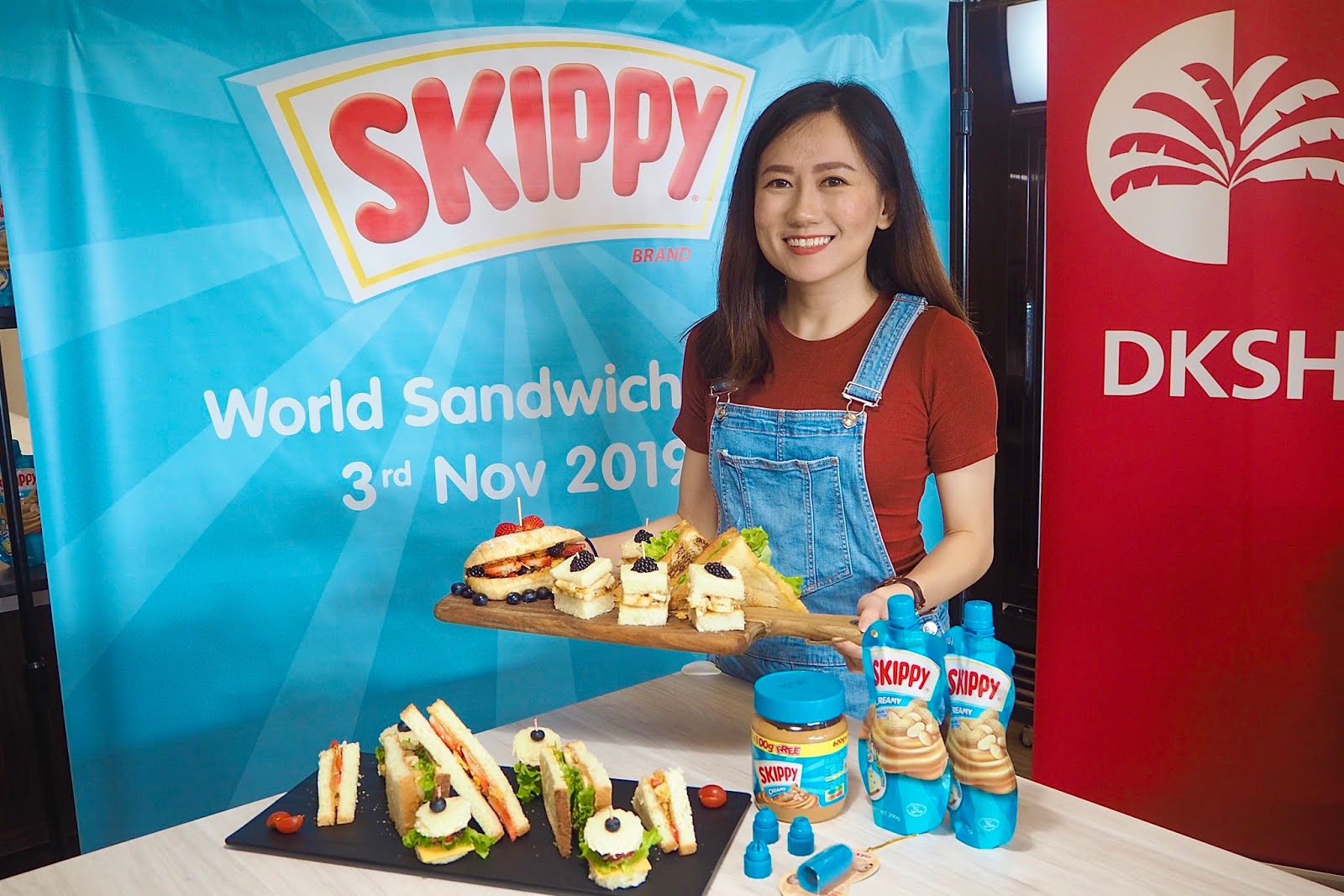 [EVENT] DKSH spreads fun with Skippy on the World Sandwich Day!