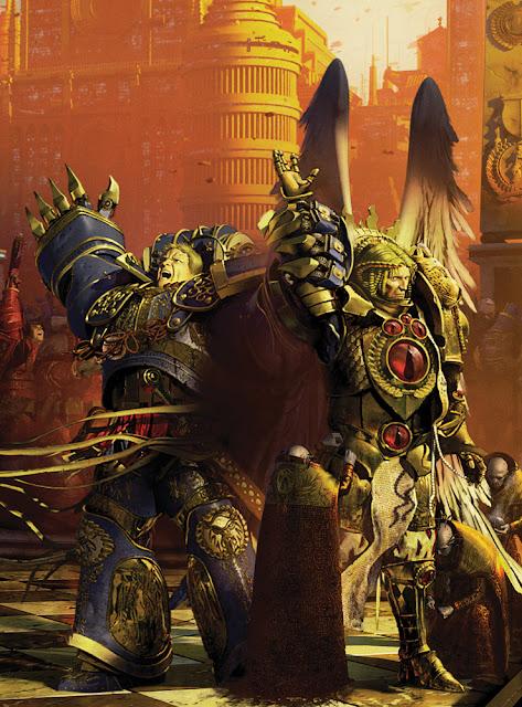 Roboute Guilliman y Sanguinius en el Imperio Olvidado