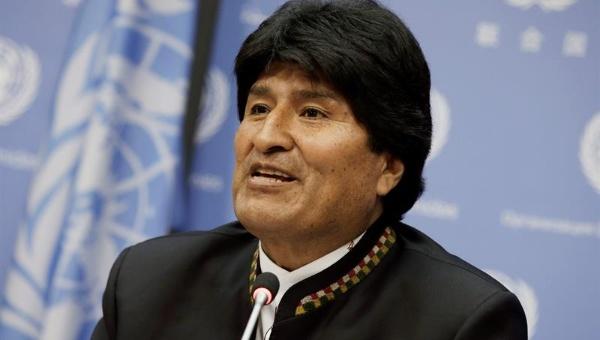 """Morales: """"el capitalismo no soluciona los problemas del mundo"""""""