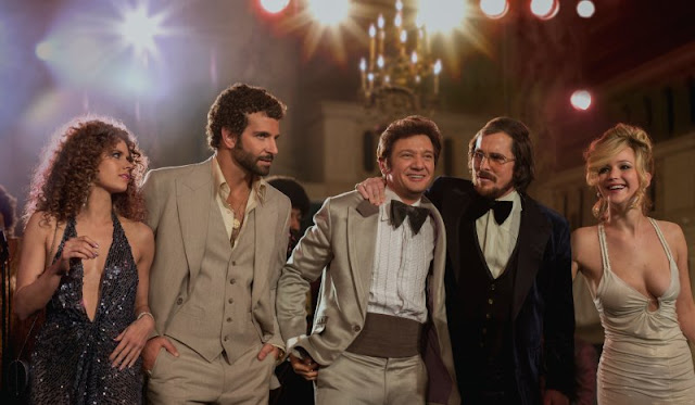 Characters from the movie American Hustle