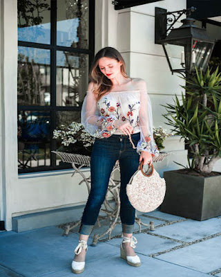 outfit de verano con flores