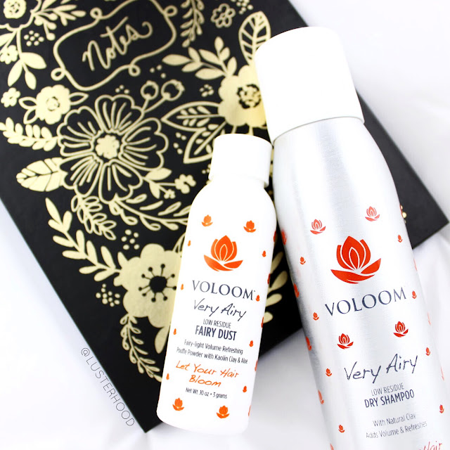 Voloom Very Airy Dry Shampoo and Fairy Dust  |  Lusterhood