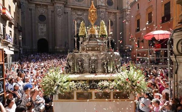 La procesión del Corpus de este año se celebrará dentro de la Catedral de Granada