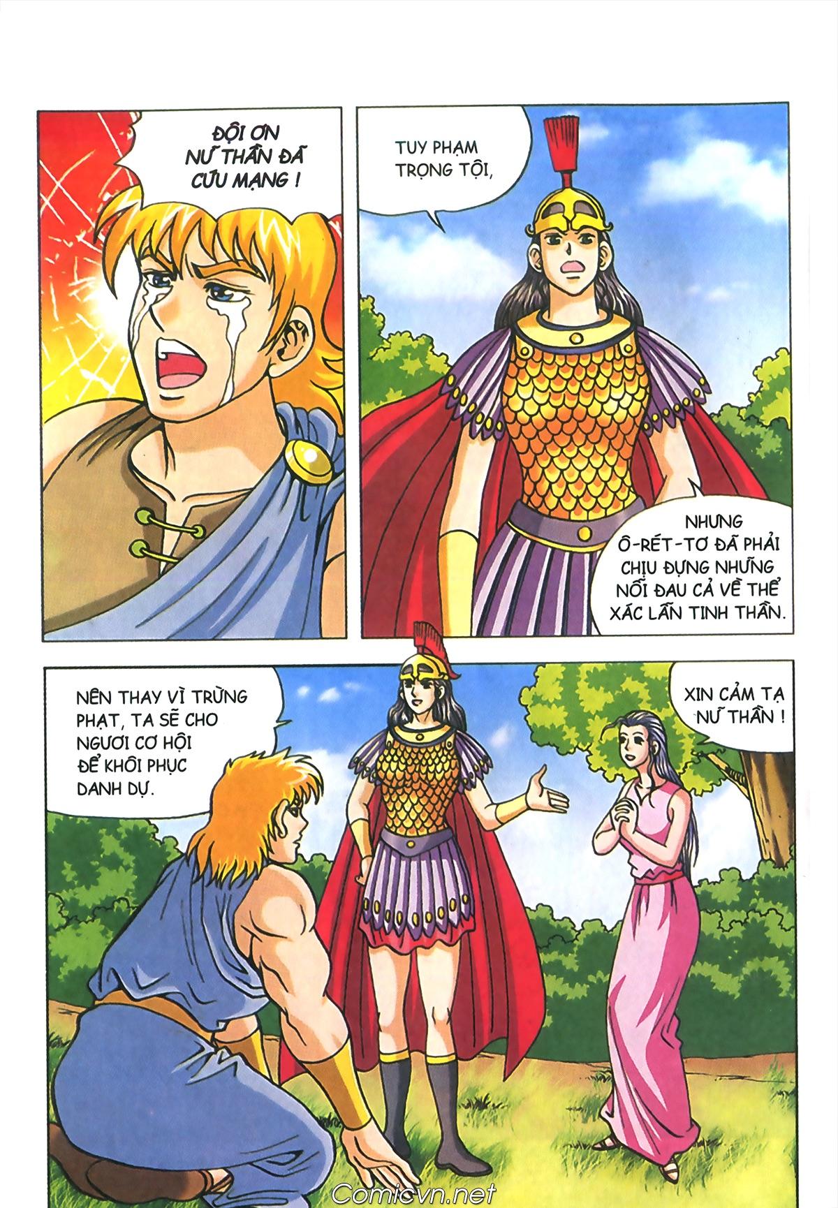 Thần Thoại Hy Lạp Màu - Chapter 72: Phán quyết của Nữ thần Athena - Pic 5