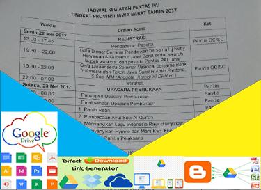 Jadwal Kegiatan Pentas PAI Jawa Barat 2017.doc