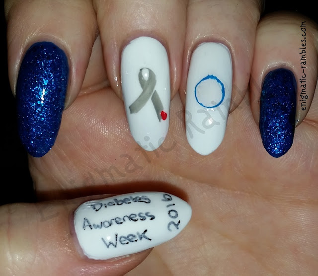 Diabetes-Diabetic-Awareness-Week-2016-Nails-Nail-Art-#diabetesawareness-#diabetesweek- #thisisdiabetes