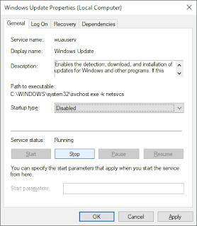 Catatan Ikrom Cara Menonaktifkan Windows Update pada Windows 10 Step-4