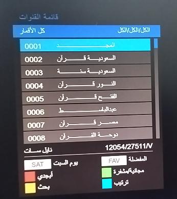 احدث ملف قنوات عربي اسلامي  TRUMAN 333 HD MINI والاشباة 7/2021