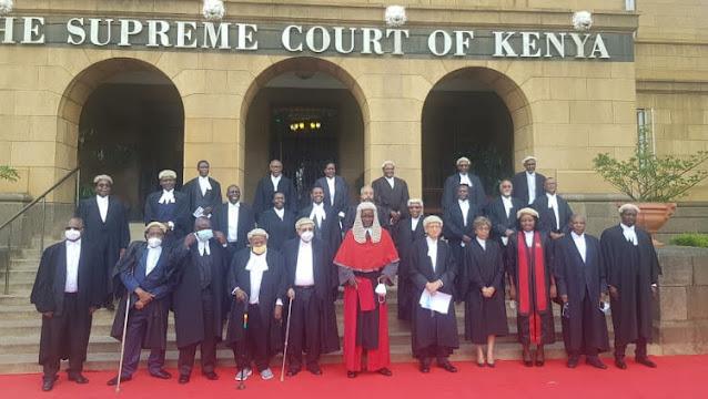 24 Senior Counsels at Supreme court with CJ David Maraga.