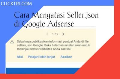 Apa Itu Seller.json dan Bagaimana Cara Mengatasi Seller.json di Google Adsense