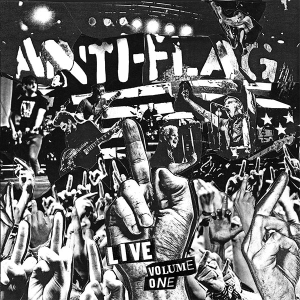 "Anti-Flag stream new album ""Live Vol. 1"""