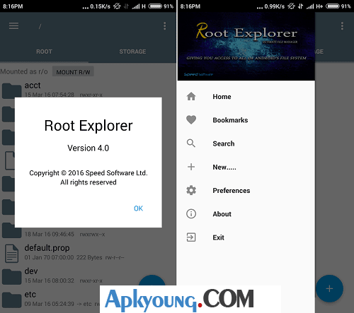 download root explorer apk pro full version