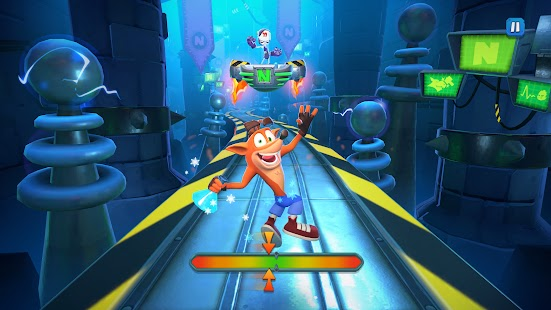 Crash Bandicoot On the Run Screenshot