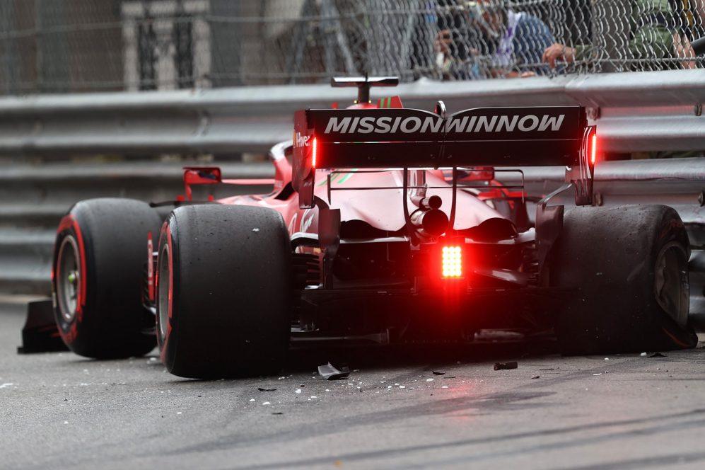 Charles Leclerc conquistou a última pole position, em casa em Mônaco. Mas ele caiu e não começou a corrida ...