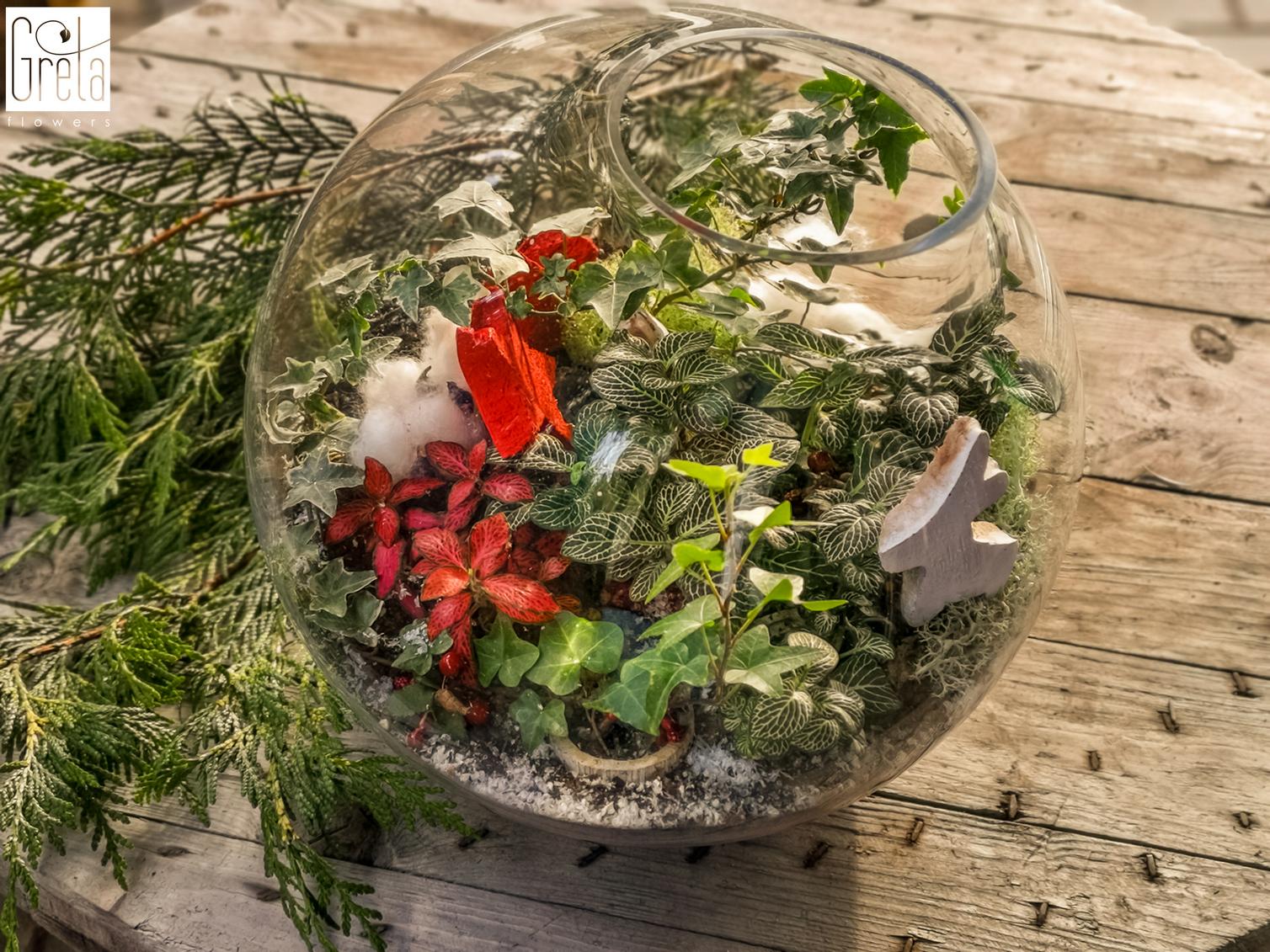 Świąteczny las w słoiku, czyli oryginalne dekoracje i pomysł na prezent