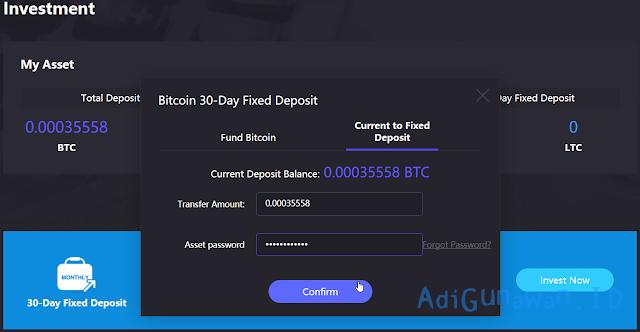 Investasi Bitcoin terpercaya