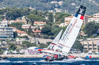 Les AC45 sont à Toulon !