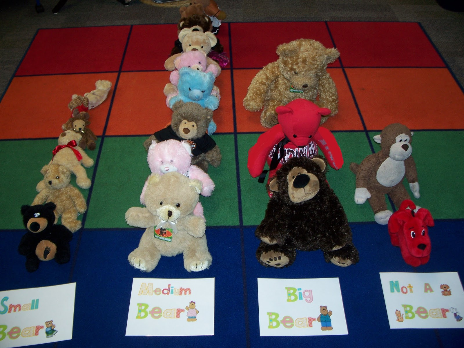 Kinder Friendly Letter Bb Teddy Bear Day And Treating