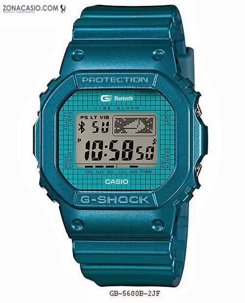 CasioNuevos G 5600 Actualización La Zona Shock Bluetooth De 8mnv0wN