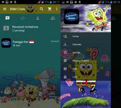 BBM MOD Spongebob versi Terbaru 3.0.0.18