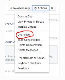How Can I Get Deleted Facebook Messages Back?