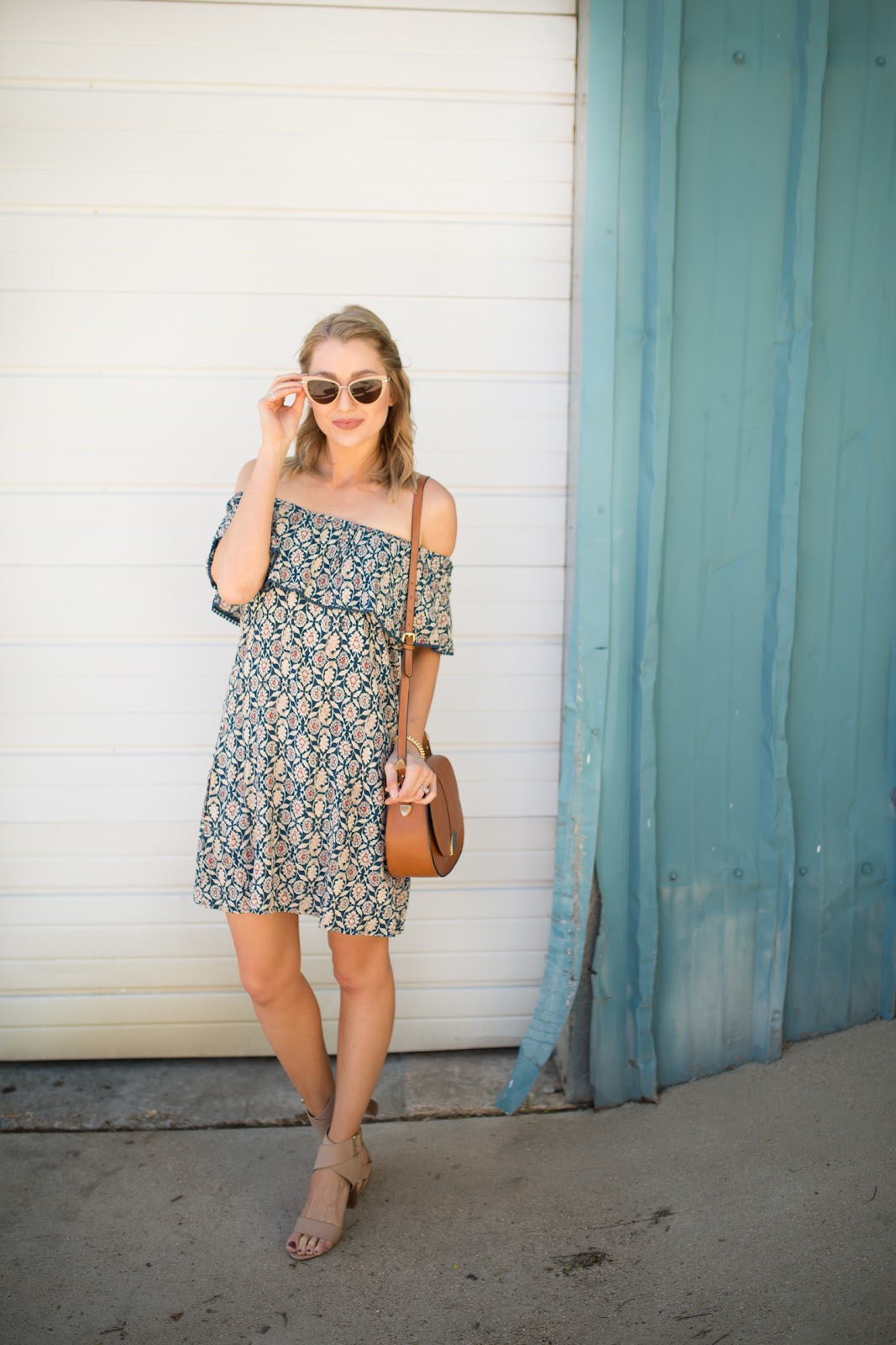 Off-the-shoulder sundress