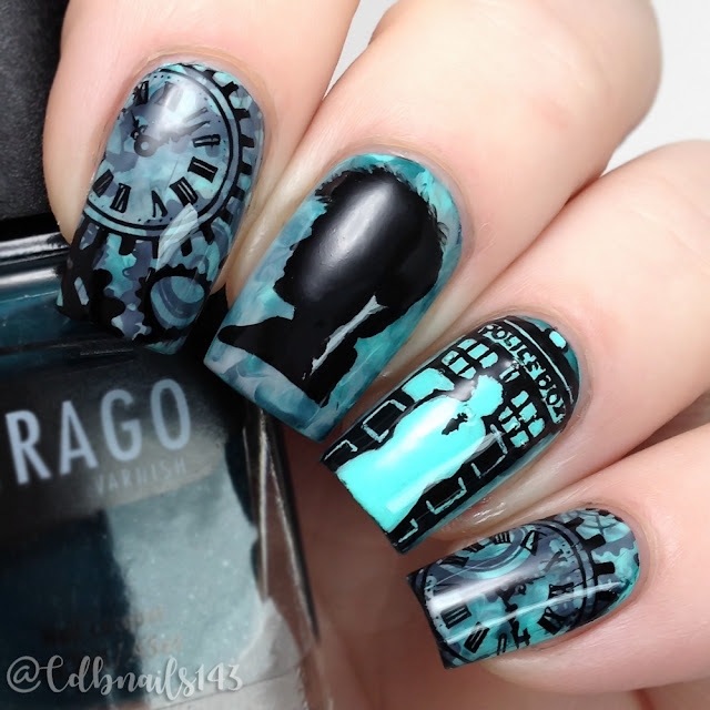 cdbnails143-Doctor Who Nails